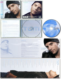 """""""tomi / with you"""" CD JACKET"""