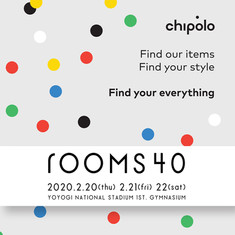 """chipolo"" @ rooms40 exhibition"