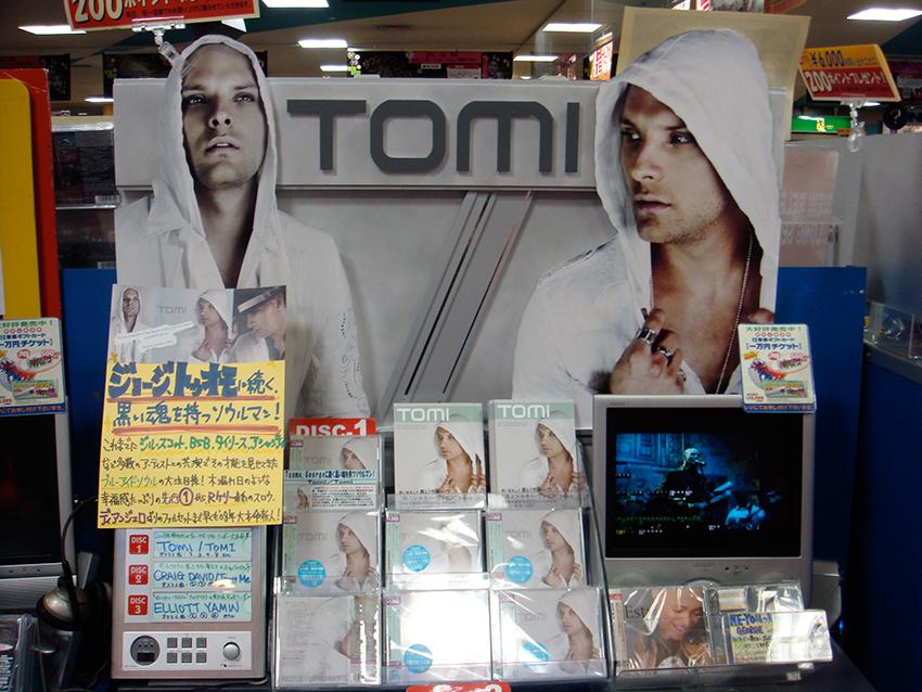 TOMI@TOWER RECORD SHIBUYA