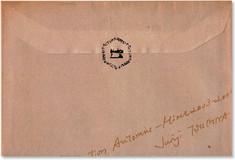03.04.15 Junji Tsuchiya A/W '03-'04 invitation card