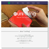 """uni-thing"" web design"