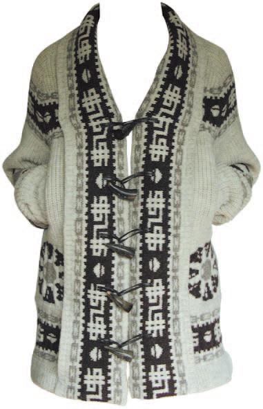 """sureshot"" knit coat"