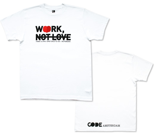 """WORK NOT LOVE"" by CODE"