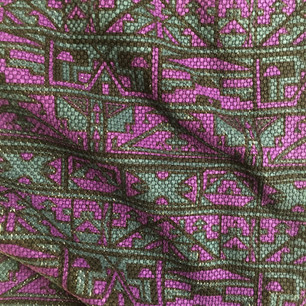 "DESIGN & PRODUCE: ""NDEBELE"" textile by sureshot S/S '04"
