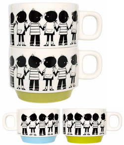 """Jip & Jannke"" stacking mug cup"