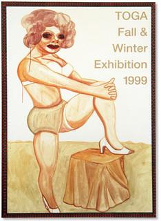 TOGA A/W '99 invitation poster
