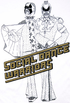 """social dance warriors"" T-shirts @ BEAMS T"
