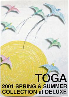 TOGA S/S '01 invitation poster