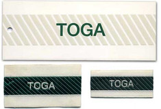 TOGA logo & label