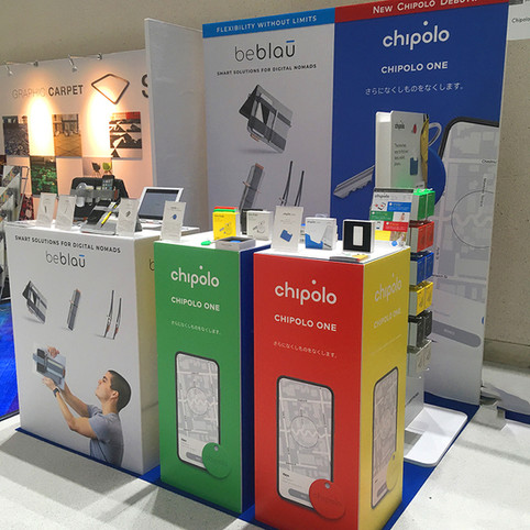 BOOTH DESIGN: chipolo at rooms40