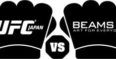 """""""UFC x BEAMS"""" logo"""