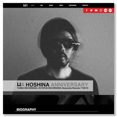 """""""Hoshina Anniversary"""" web"""