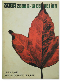 TOGA A/W '00-'01 invitation poster
