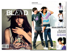 """sureshot"" @ BLEND MAGAZINE / Nov issue"