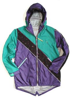 """sureshot"" nylon coat"