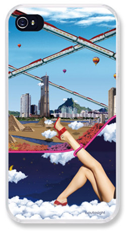 """""""day&nite"""" iPhone case for visualog"""