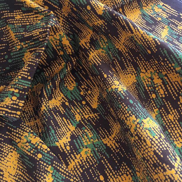 """original camouflage"" textile for sureshot S/S '04"