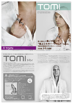 """TOMI / TOMI"" flyer"
