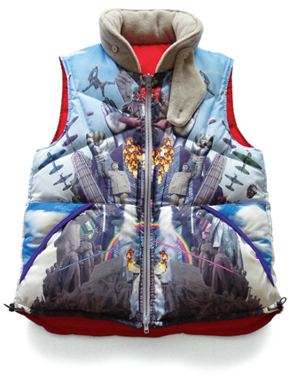 """is-ness"" down vest"