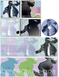 """BENNSON / Let The Love"" CD JACKET"
