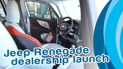 Jeep Renegade Dealership Launch