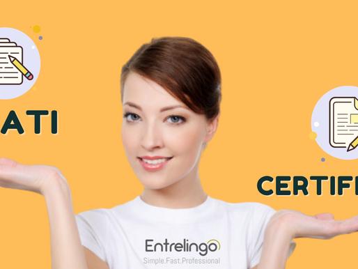 ¿Cuál es la diferencia de una traducción NAATI y una traducción certificada?