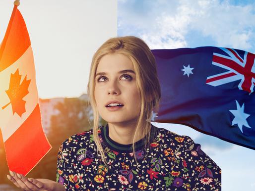 POR QUE IMIGRAMOS PARA A AUSTRÁLIA E NÃO PARA O CANADÁ?