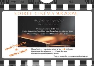 SOIREE CINEMA-DEBAT LE LUNDI 17 MAI 2021