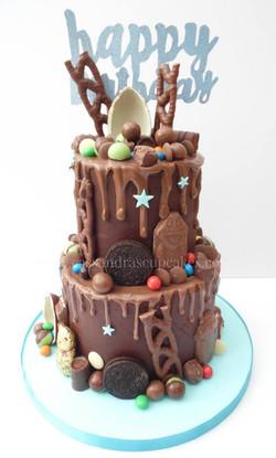 chocolate heaven, curly wurly, bueno, kinder egg, buttons, aero balls, mars bites, oreo. malteasers