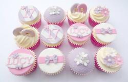 Pretty Pastel Birthday Cupcakes