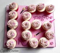 16th Birthday Cupcake Board
