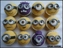Minions 2 Cupcakes