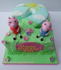 Peppa Pig Themed Number 2