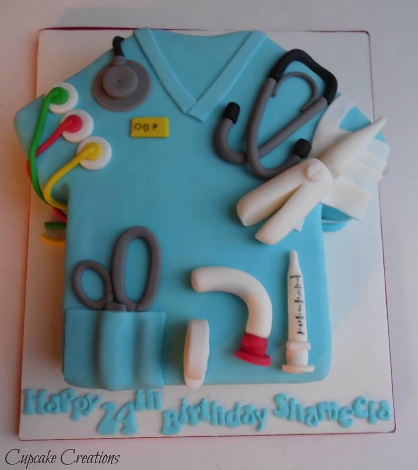 Medical Themed Cake