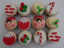 Christmas Elf Cupcakes
