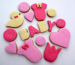 Babyshower Biscuits