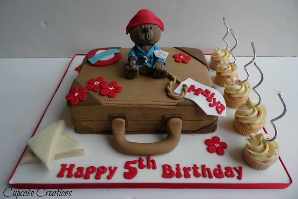Paddington birthday cake