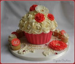 40th Anniversary Cake