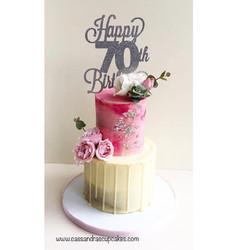 70th Birthday Cakes Huddersfield