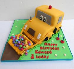 Yellow Digger Cake