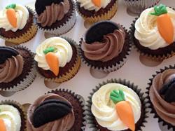 Carrot & Oreo Cupcakes