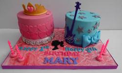 Barcie Rock & Royal themed Birthday Cake