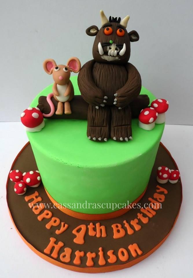 Oh no its a Gruffalo... birthday cake