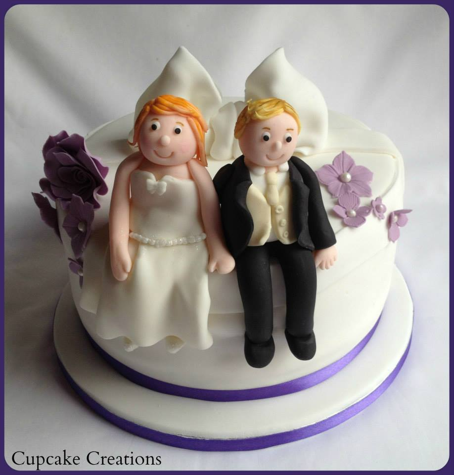 Triple Layer Gluten Free Wedding Cake