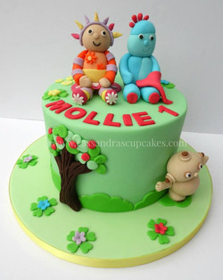 In the Night Garden themed cake