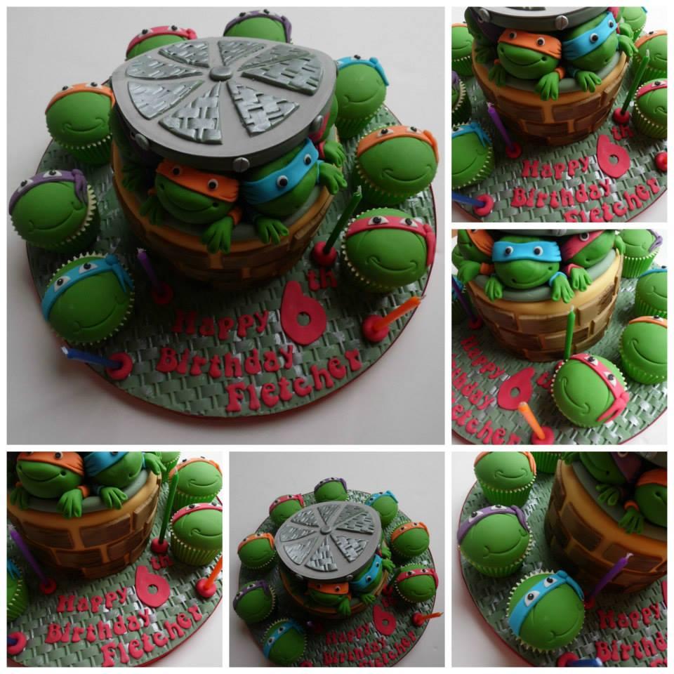 Turtles Cakes & Cupcakes