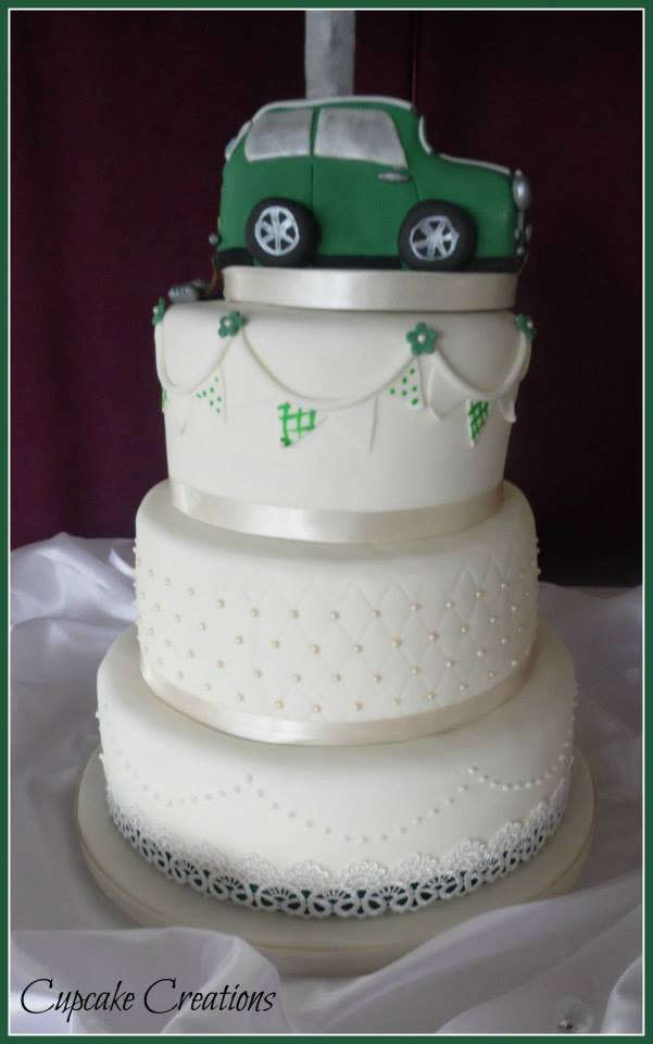 Bespoke Wedding Cake with Mini