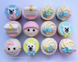 Baby Shower Cupcakes  (2)