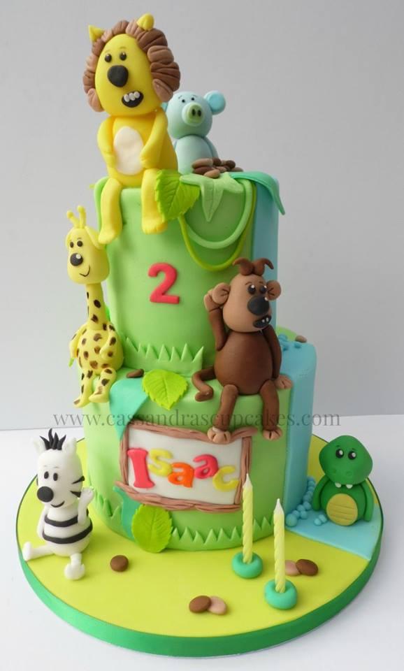 RaaRaa the Lion Birthday Cake