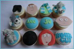 Family Guy Cupcakes